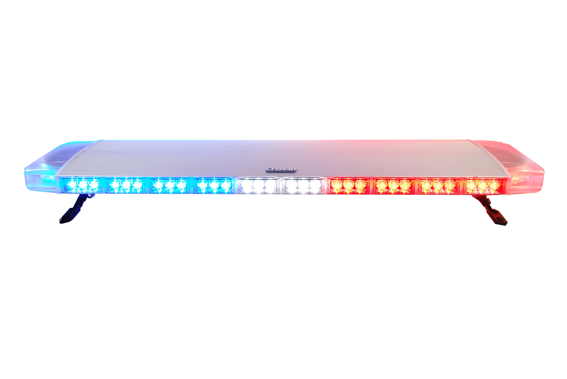 R10 Thin 3 Watt Emergency LED Light Bar , Police Car Roof Light Bar Waterproof
